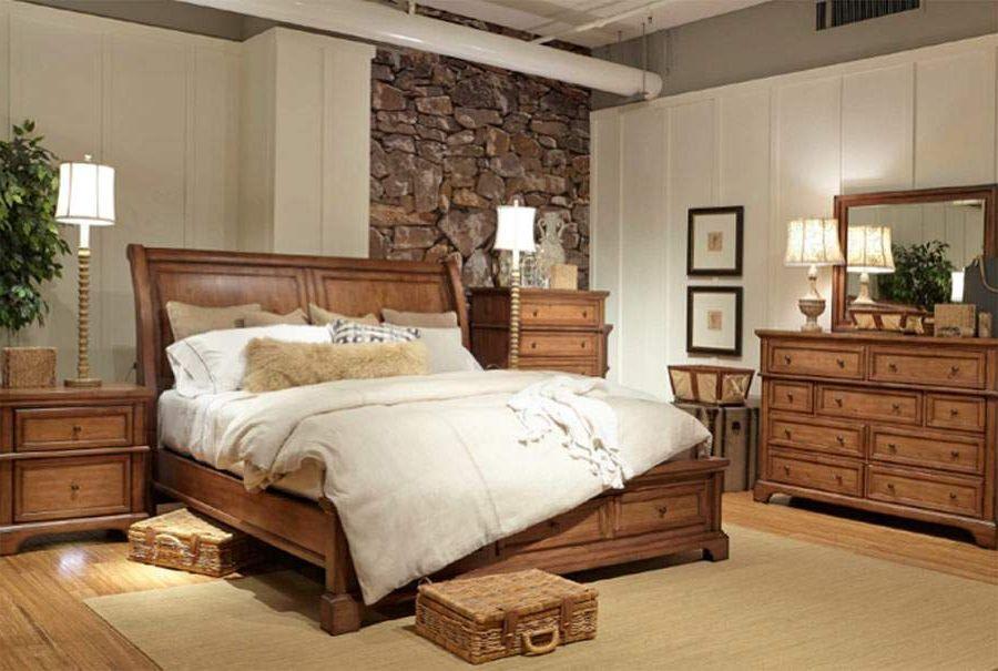 Mancini S Sleepworld Aspen Home Alder Creek Sleigh Bed Bedroom