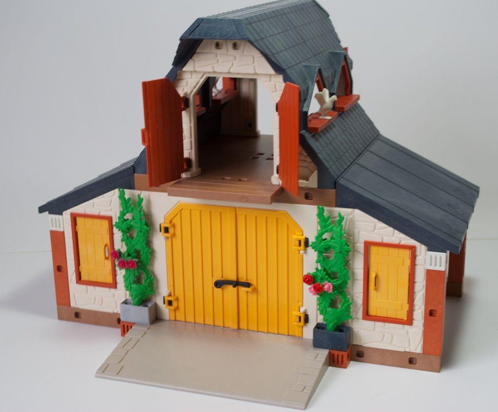 Playmobil Bauernhof Gebäude Wie 3072 Mit Figuren Tiere Zubehör