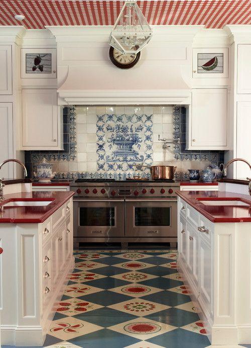 Patriotic Home Decor Ideas Kitchen Flooring Home Kitchens Kitchen Inspirations