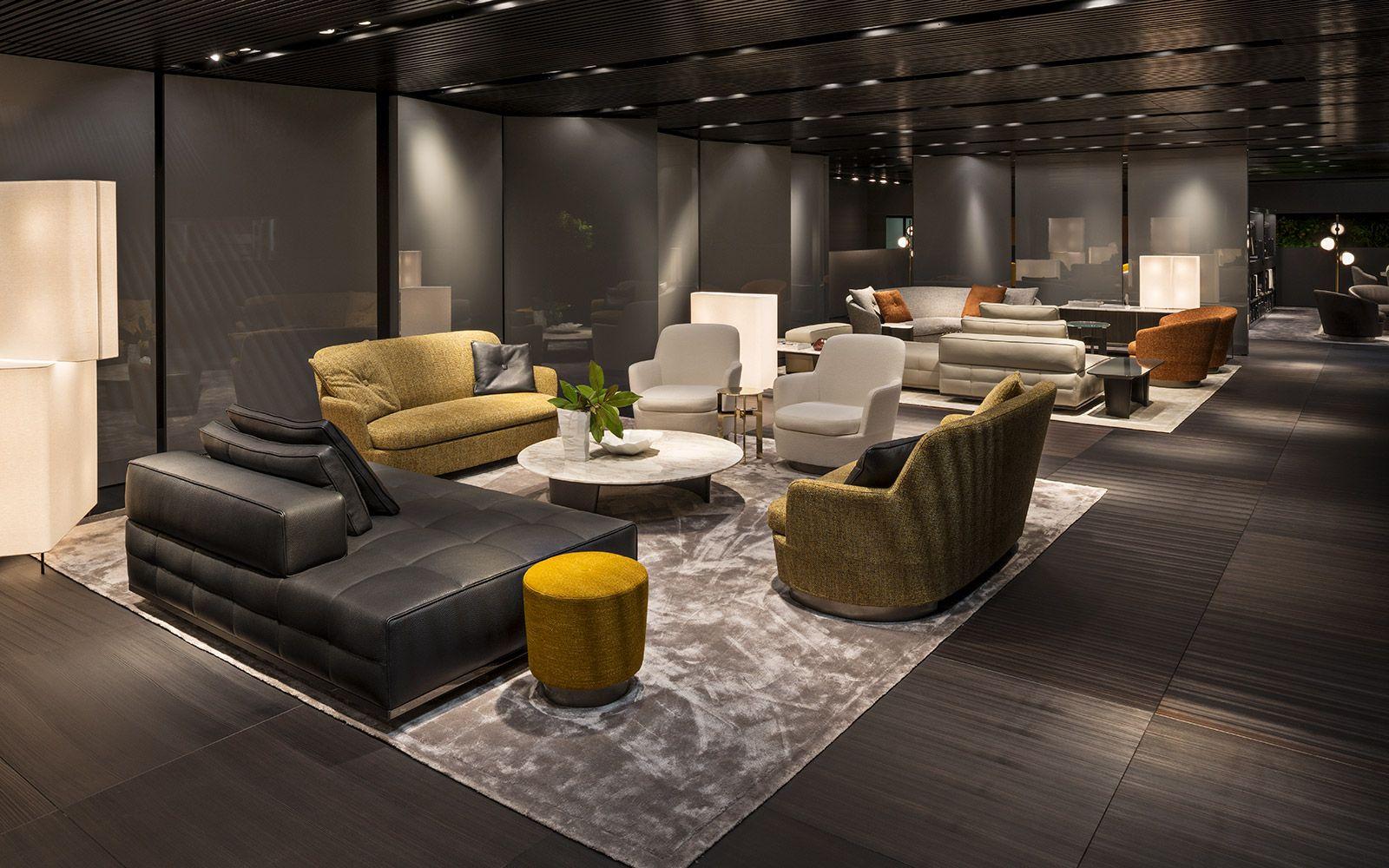 minotti @ salone del mobile 2017 | interiores | pinterest