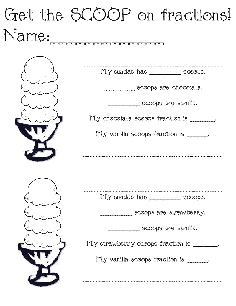 Worksheet Fractions For First Grade 1000 images about first grade ideas on pinterest pizza fraction activities and activities
