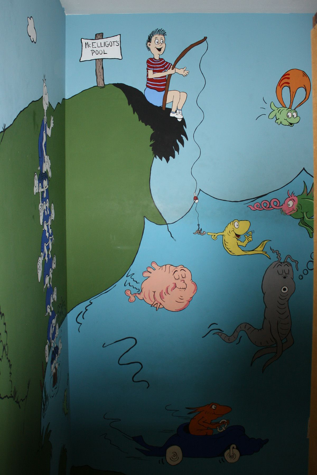 McElligot\'s Pool | Dr. Seuss bedroom | Pinterest