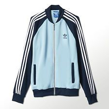 Adidas Originals Men's Superstar Blue Track Jacket XS S M L