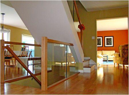 sunken living room railing - Google Search | living room ...