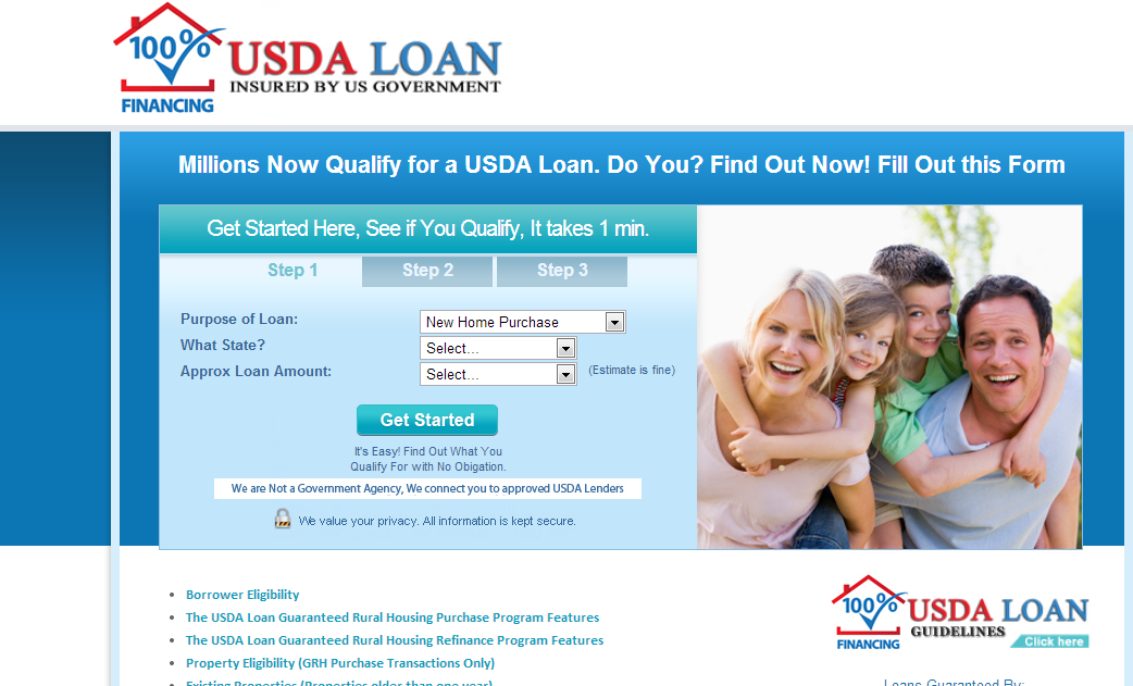 Borrower Eligibility The USDA Loan Guaranteed Rural Housing Purchase Program Features The USDA Loan Guaranteed Rural Housing Refinance Program Features Property Eligibility (GRH Purchase Transactions Only) Existing Properties (Properties older than one year) Required Repairs/Escrow Agreements Maximum Interest Rate (GRH Purchase Transactions Only) Assumability INCOME VERIFICATION/REQUIREMENTS GUARANTEED RURAL HOUSING