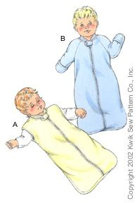 Baby Winter Sleeping Bag With Sleeves