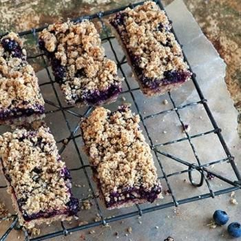 Blueberry Breakfast Bars From 'Whole-Grain Mornings'
