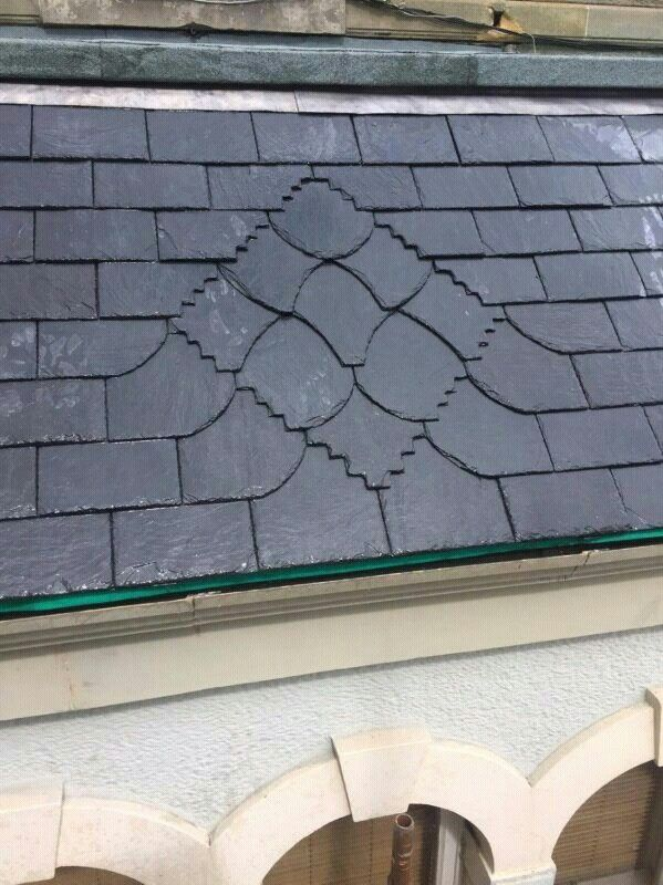 Feature Slatework Metal Roof Slate Roof Copper Roof