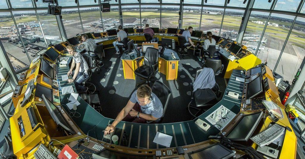 Inside an air traffic control tower pics Air traffic