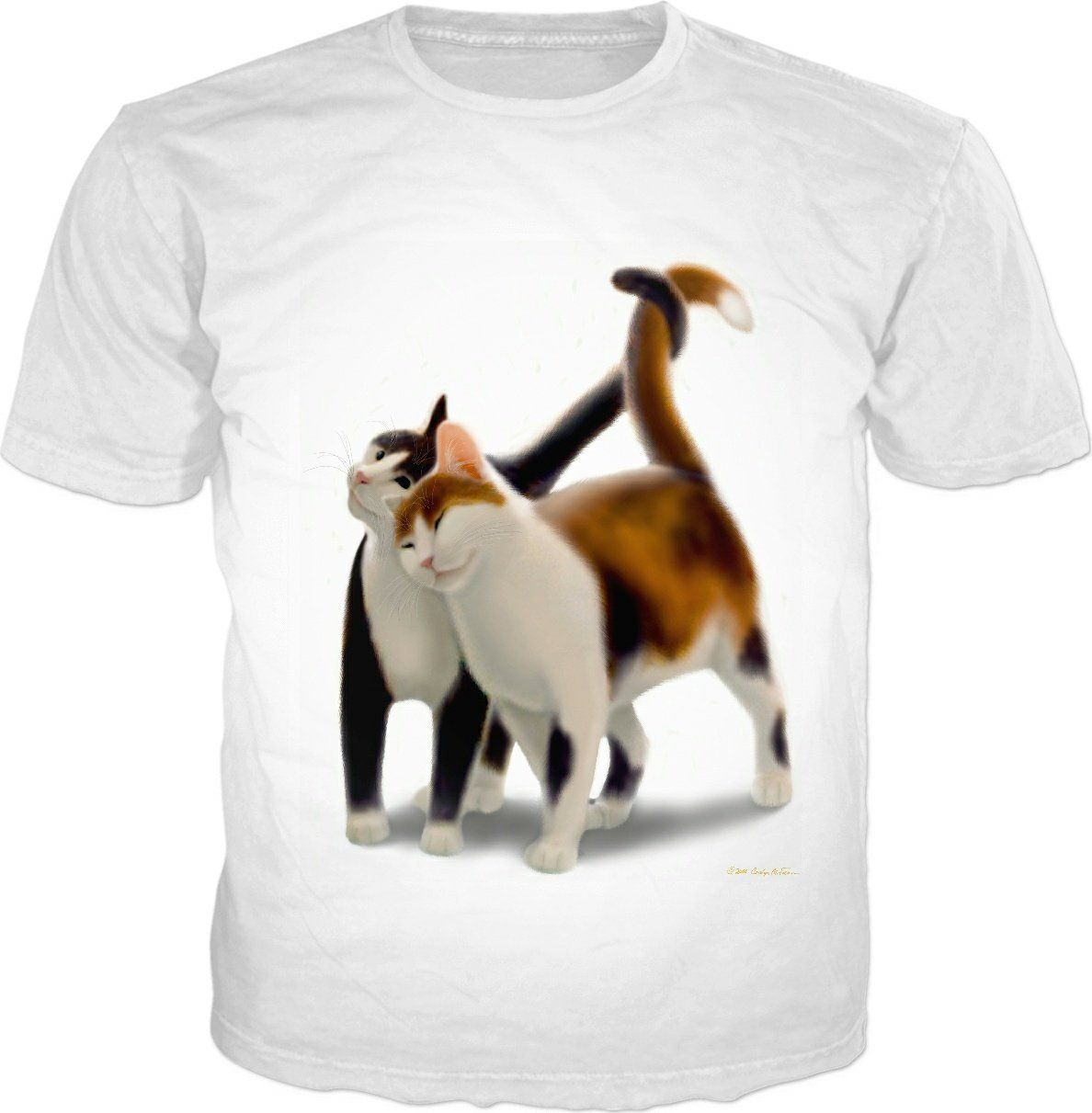 The Love Cats Cotton T-Shirt