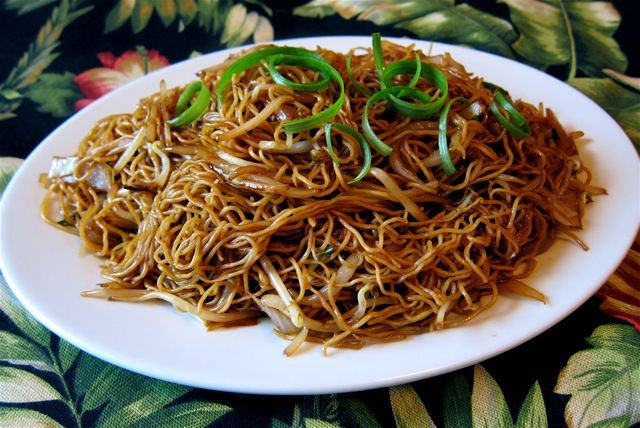 Chi You Chao Mian Soy Sauce Chow Mein Recipe With Chow Mein