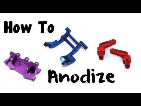 How to anodize parts techie pinterest metal working diy how to anodize parts solutioingenieria Images