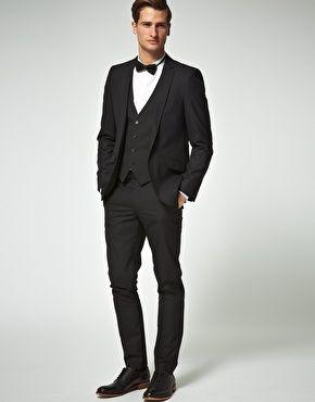 ASOS slim black suit on sale. | Groom | Pinterest | ASOS, Suits ...