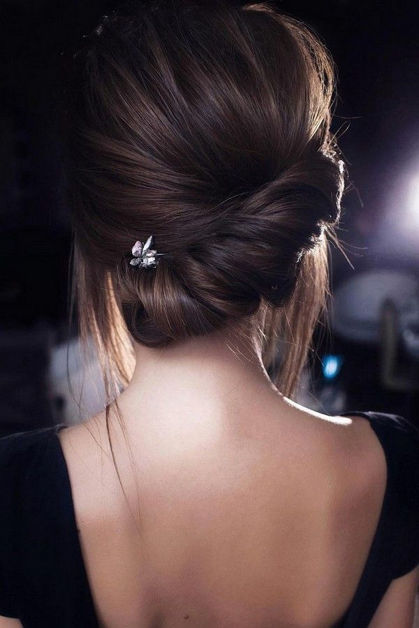 15 Stunning Low Bun Updo Wedding Hairstyles From Tonyastylist Emmalovesweddings Chignon Hair Hair Styles Long Hair Styles