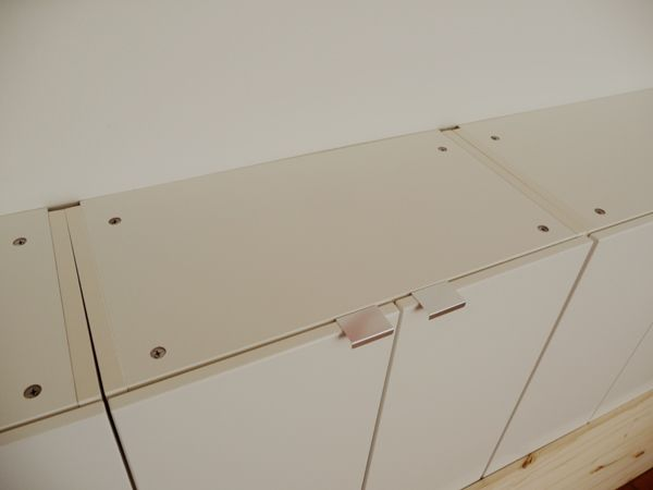 Ikea Metal Credenza : B diy home floating credenza from ikea beverly bleu