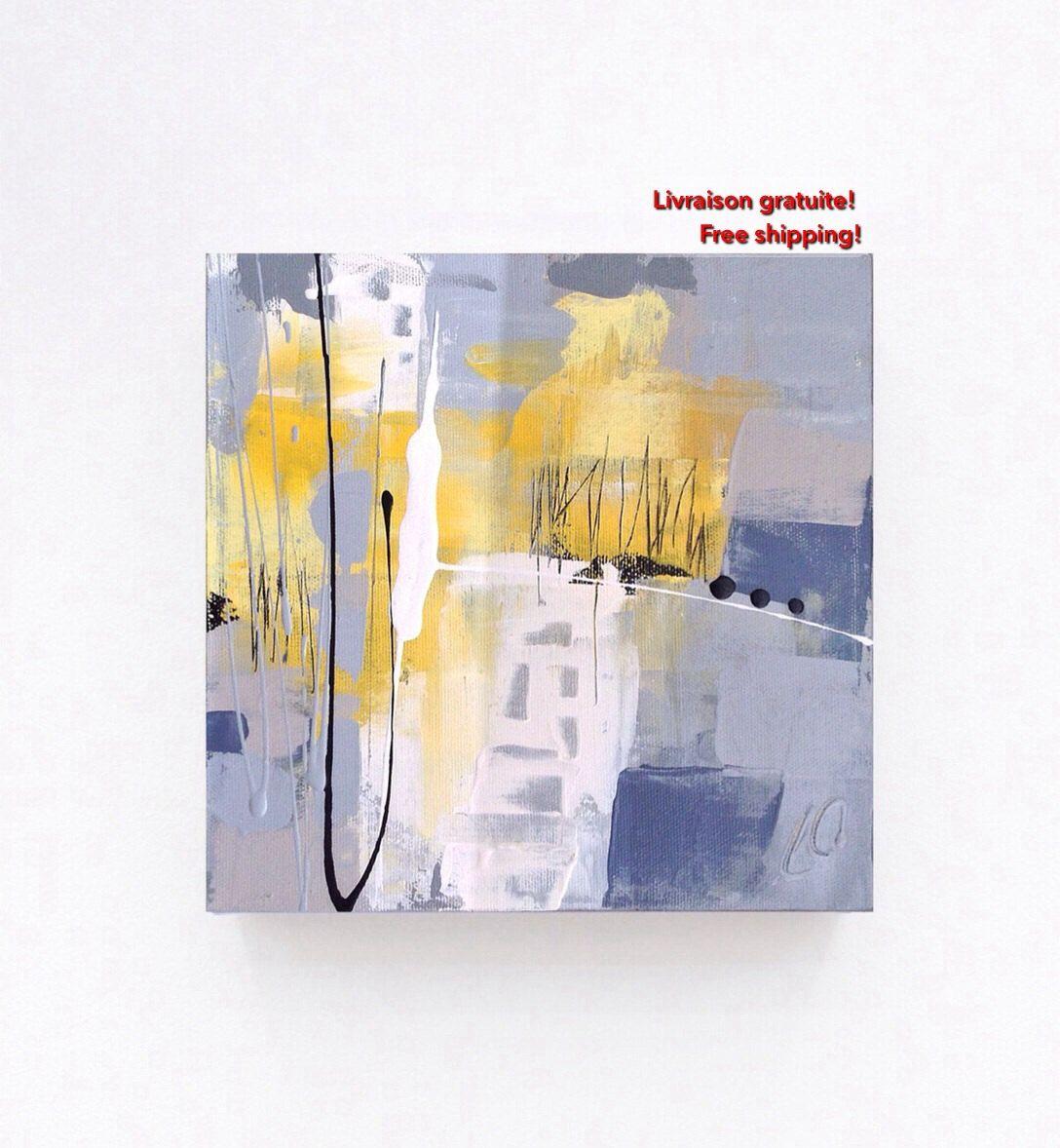 Petite toile abstraite 8\