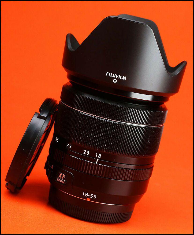 Fuji 18 55mm F2 8 4 R Lm Ois Xf Fujinon Fujifilm Lens With Both Caps Lens Caps Stuff To Buy Category