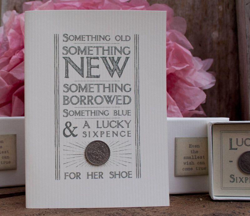 East Of India Wedding Card With 'something Old, Something