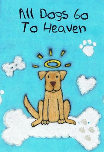 All Dogs Go To Heaven Booklet With Images Dog Sympathy Dog Books Pet Sympathy