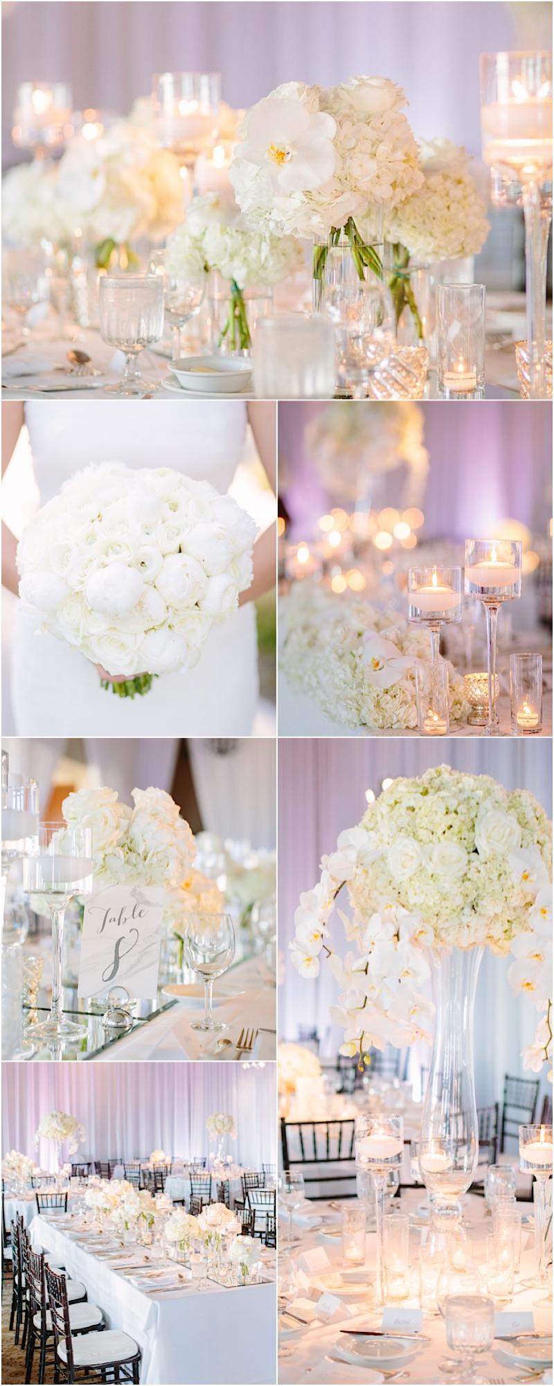 Malibu Wedding with All White Elegance   Reception, Photographers ...