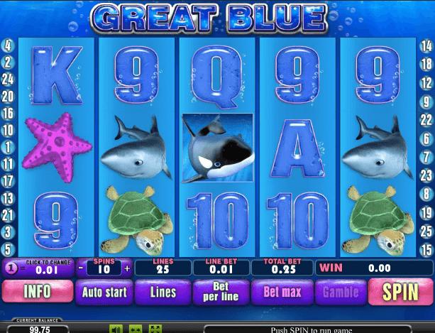 Игровые автоматы great blue игровые 0 автоматы