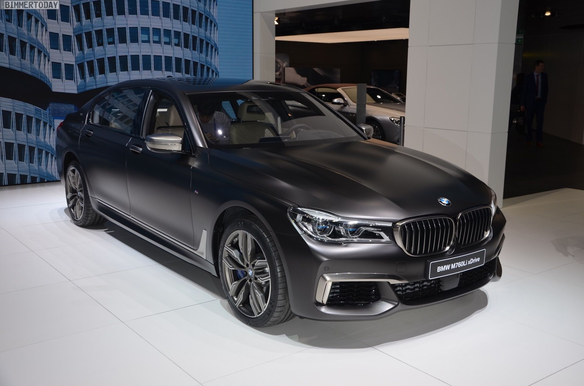 Bmw Xdrive Sedan Geneva Auto Live