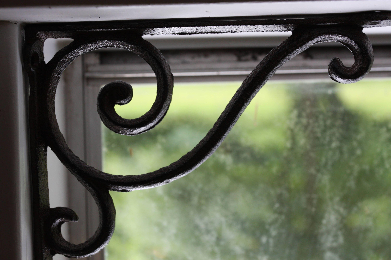 Rustic Elegant Design Window Corner Decor Victorian Shelf Brackets Fancy Swirl Curl Corbels Cast Iron 6 5 8 Free Shipping B 5 Corbels Shelf Brackets Corner Decor