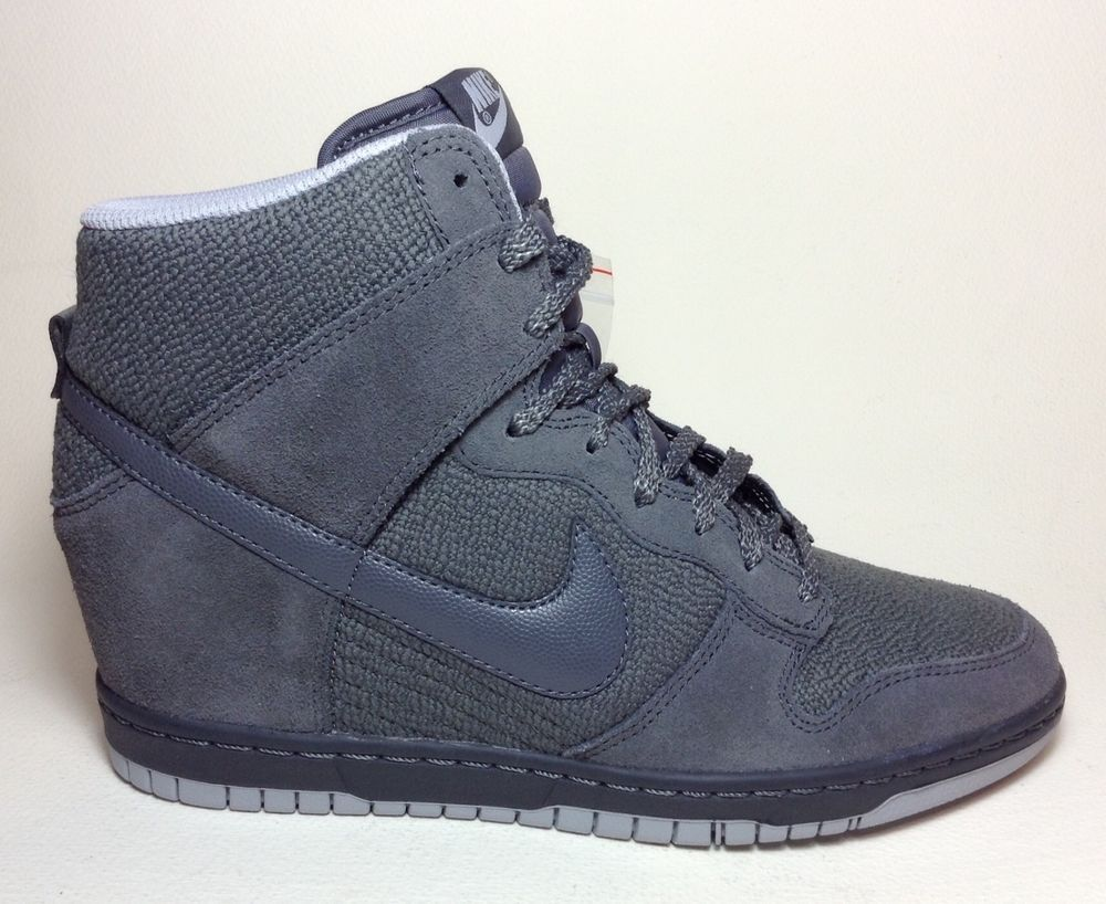online store e66e6 72c4c Women s NIKE DUNK SKY HI ESSENTIAL sz 6 Athletic Wedge Shoes 644877 005 NEW   Nike  Comfort