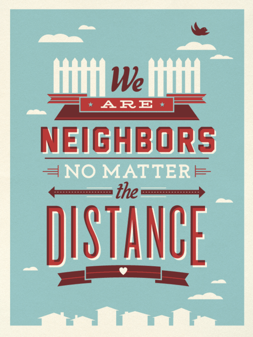 No matter the distance