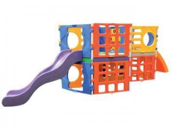 Mega Playground com Escorregador - Xalingo