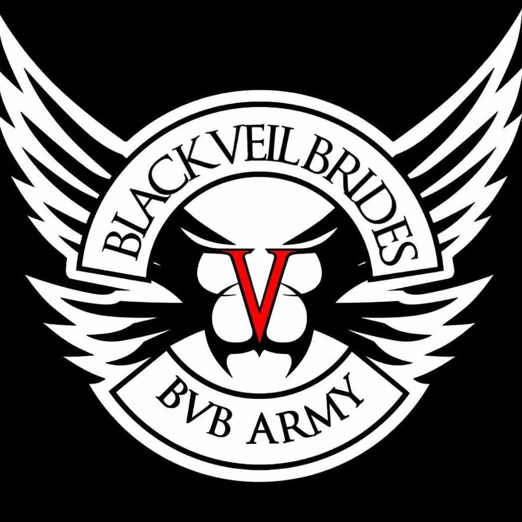 BLACK VEIL BRIDES LOGO HEAVY HOODY