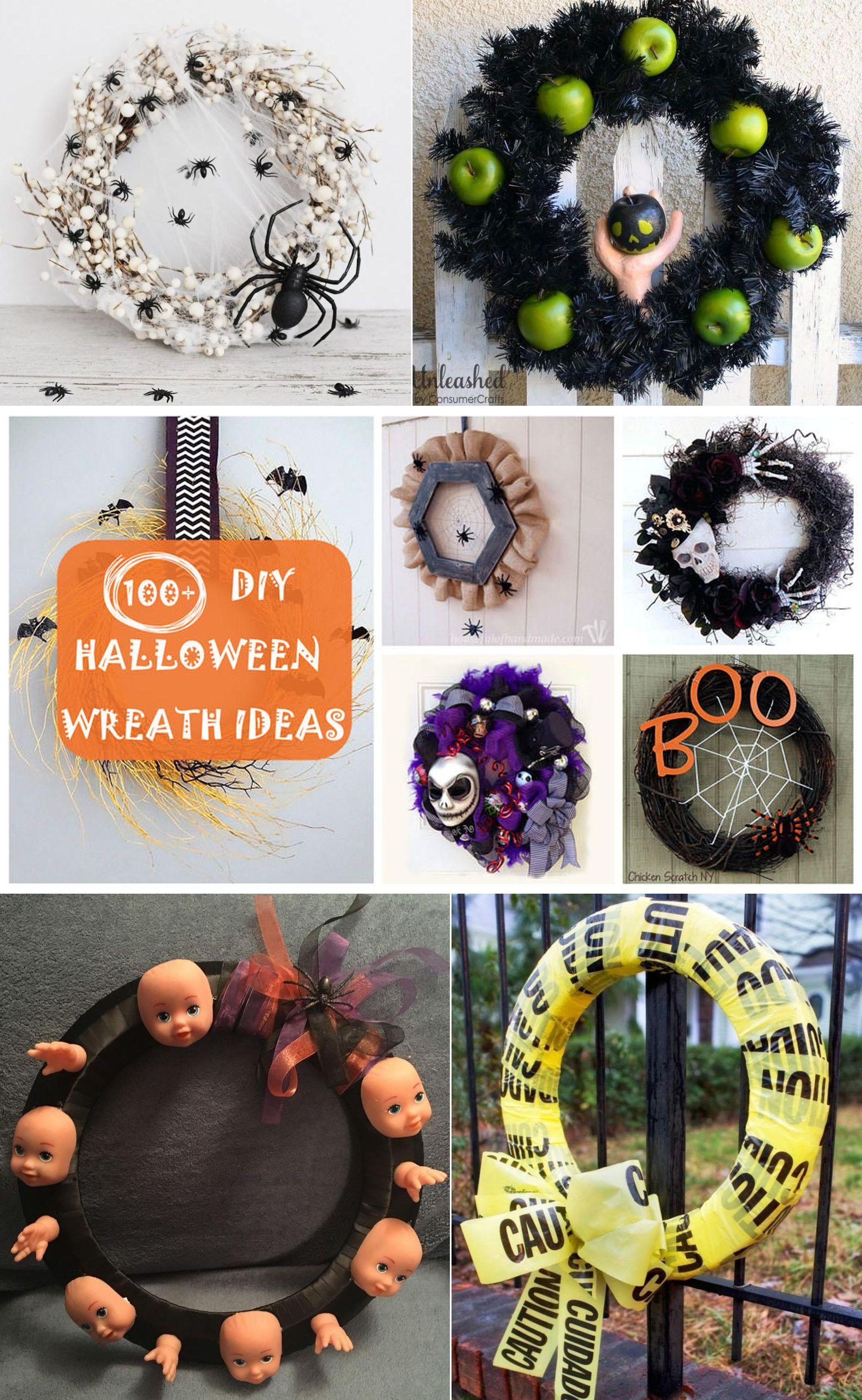 100 Best Diy Halloween Wreath Ideas To Try In 2019 Halloween