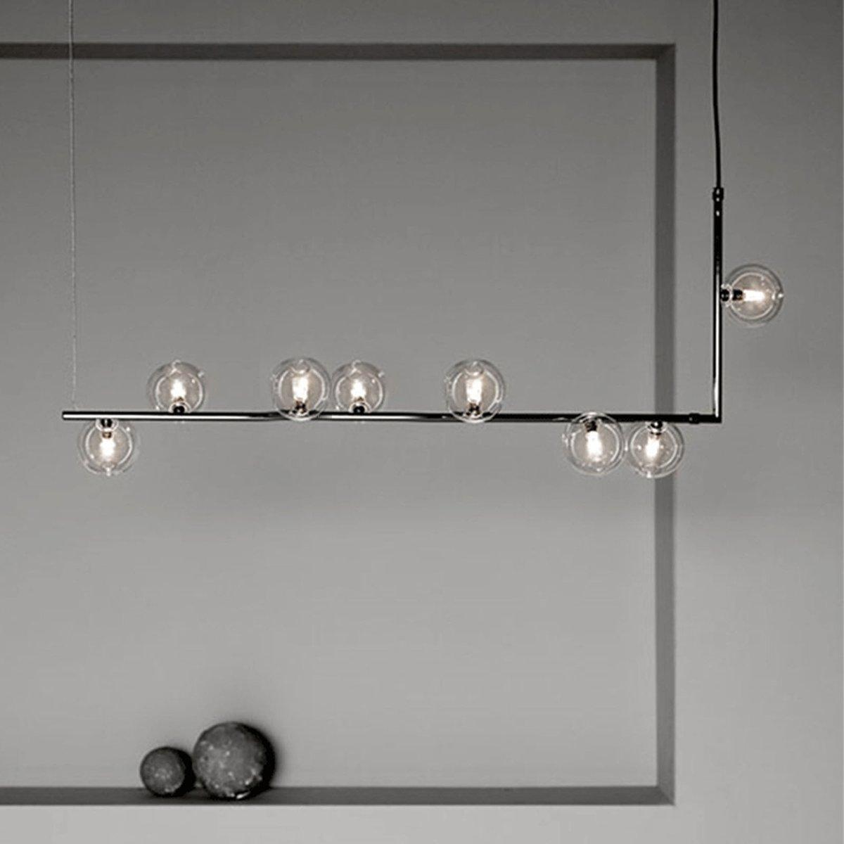 Uppsala 8 Heads Pendant Lamp Cy New 026 8 Ch Pendant Lamp G9 Led Bulb Wooden Chandelier
