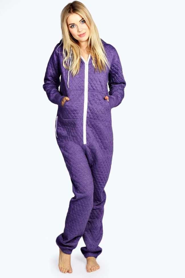 Adult Purple XL Womens Quilted Onesie  20.00 Adult  Onesies Womens Onesies c9f970d27