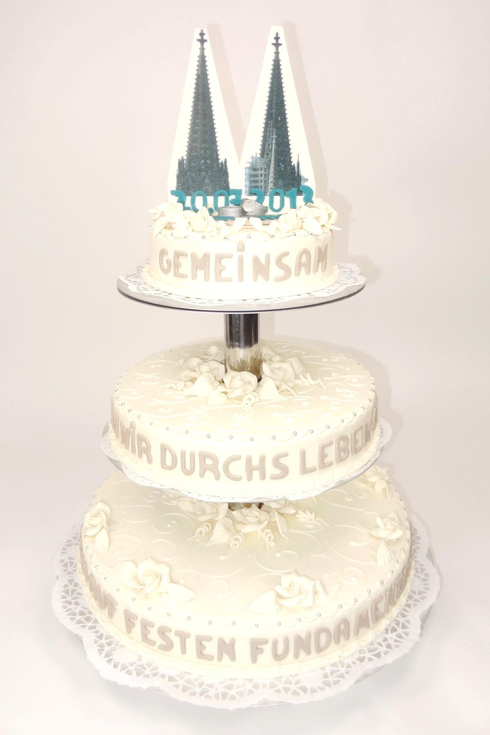 Kölner Dom Hochzeitstorte   Cologne Cathedral Wedding Cake ...