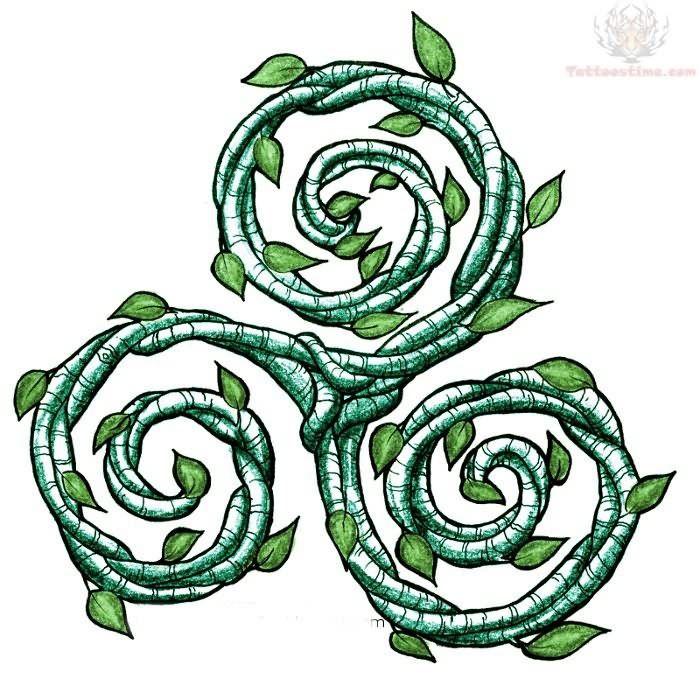 green triskel