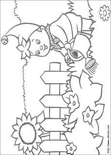 Coloriage De Printemps Maternelle.Oui Oui Coloriage Printemps Fleur Jardin Enfant Ecole Maternelle