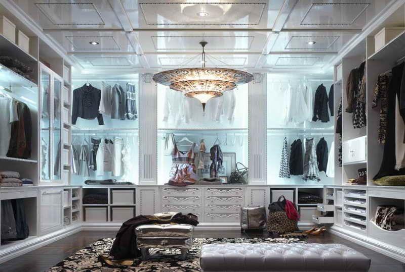 Modern Walk In Closet Design For Girl Vissbiz Residential