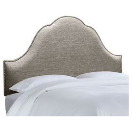 Wynona Upholstered Headboard in Pewter