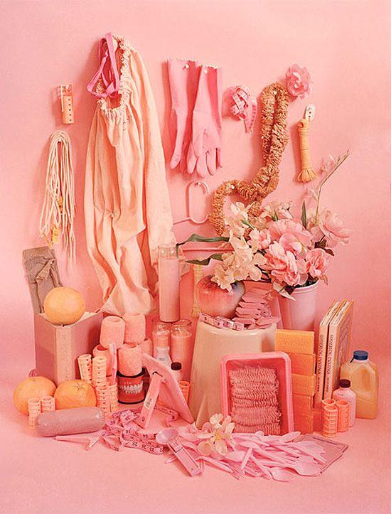 Delightful PINK colour collection by Sara Cwynar