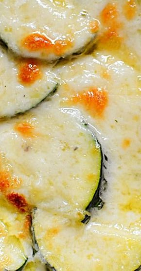 Photo of Cheesy Zucchini Gratin! (Low Carb)