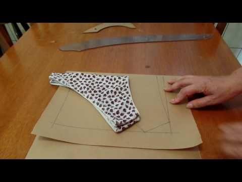 648bb3ecf Como fazer uma calcinha