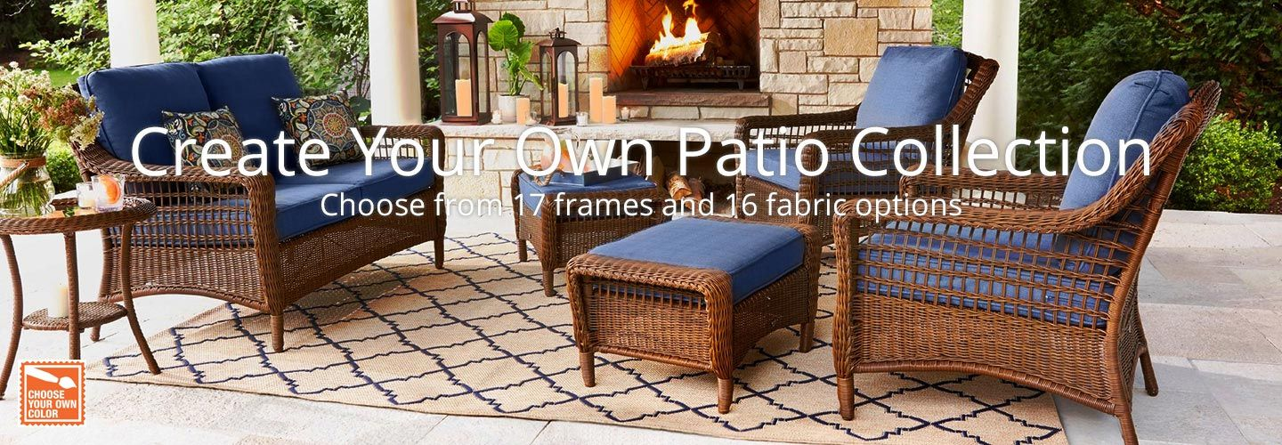 Create Your Own Patio Collection Hero Image