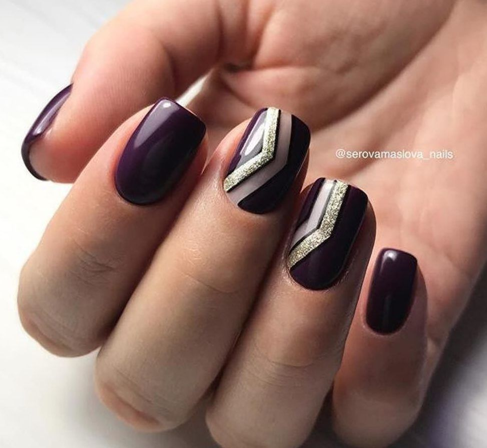 Nail Art #3719 - Best Nail Art Designs Gallery | Autumn nails, Dark ...