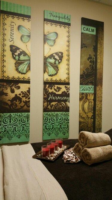 Massage room at Silk Massage Spa Owasso Oklahoma