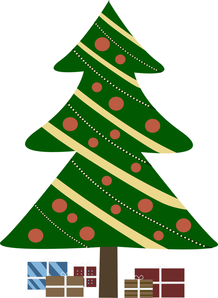 Where To Download Free Clip Art Of Christmas Trees Animated Christmas Decorations Cartoon Christmas Tree Christmas Tree Images