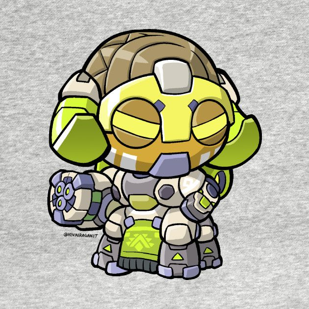 Chibi Orisa Sticker