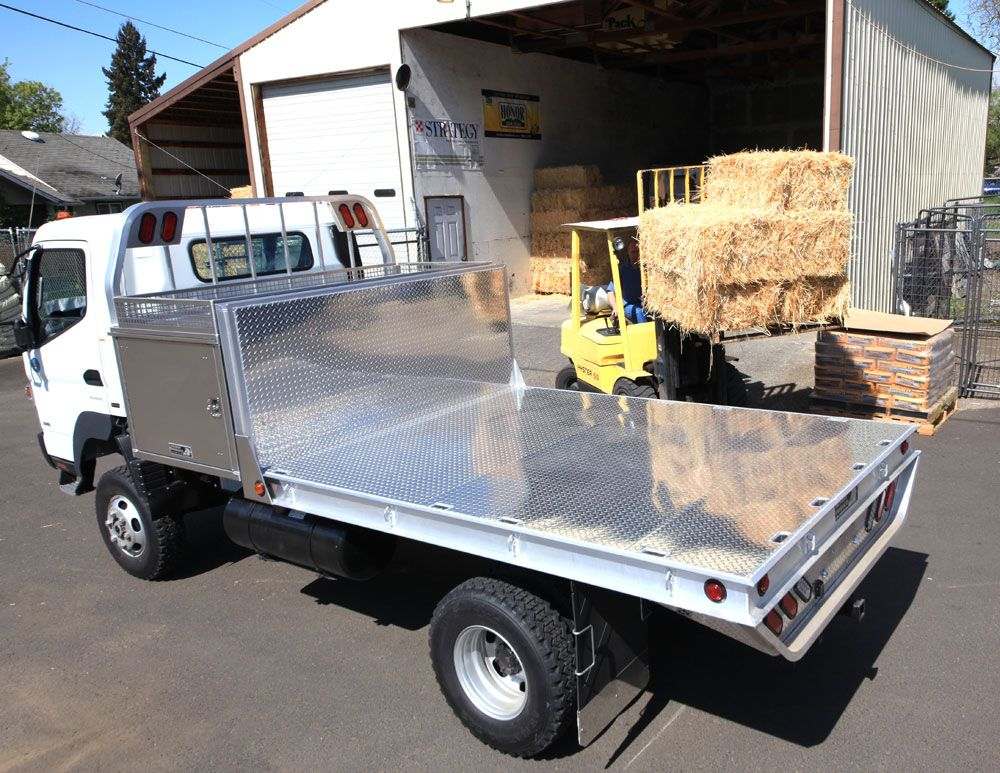 Mitsubishi Fuso truck aluminum flatbed by Highway Products