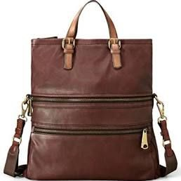 Fossil 'Explorer' Tote - Brown