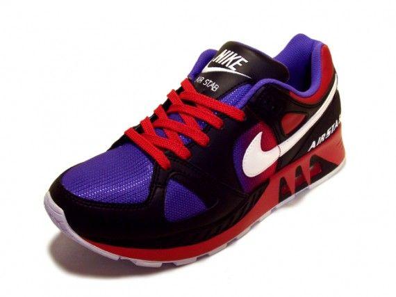 bold running shoe (nike air stab carmine 1 Nike Air Stab Black/White/